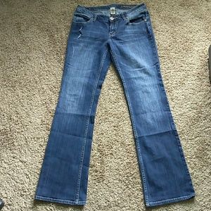 Blue denim Arizona favorite bootcut jeans